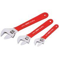 Draper Tools Redline Verstelbare moersleutel set 3-dlg 67634