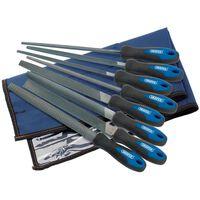 Draper Tools Vijlen en raspen set 8-delig 200 mm 44961