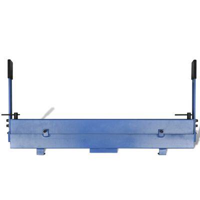 vidaXL Metaal buigmachine 930 mm