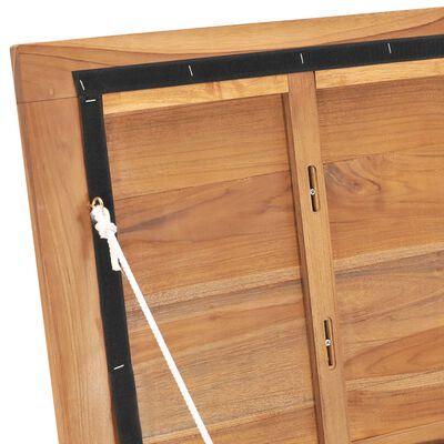 vidaXL Opbergbox 60x50x58 cm massief teakhout