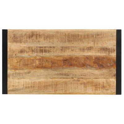 vidaXL Bartafel 110x60x110 cm massief mangohout