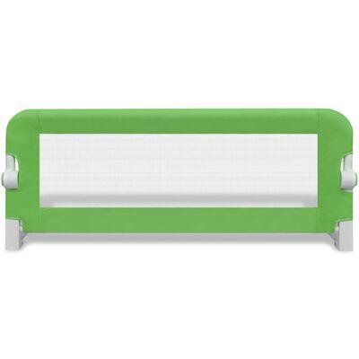 vidaXL Bedhekje peuter 102x42 cm groen
