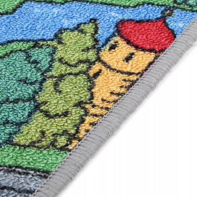 vidaXL Speeltapijt 100x165 cm lussenpool stadswegenpatroon
