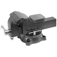 YATO Bankschroef met draaivoet 125 mm