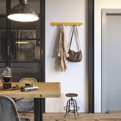 Gorillz Design® Rounded Seven Industriële Wandkapstok Muur Kapstok
