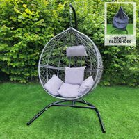Hangstoel Egg Chair - Grijs - Max: 150 Kg