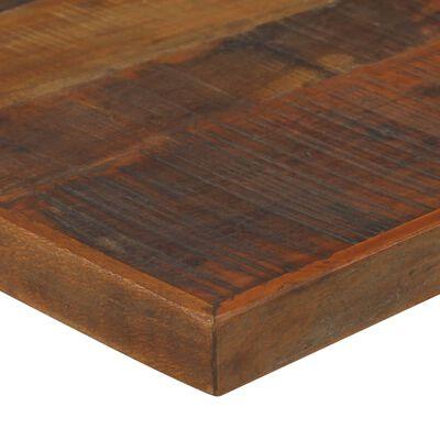 vidaXL Bartafel 180x70x107 cm massief gerecycled hout donkerbruin