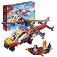 BanBao Brandweerhelikopter 7107