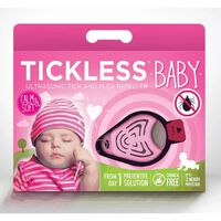 Tickless Teek En Vlo Afweer Voor Baby's Roze