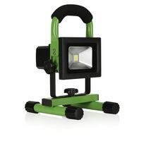 Smartwares 10.030.51 LED Bouwlamp Oplaadbaar 10W Zwart/Groen