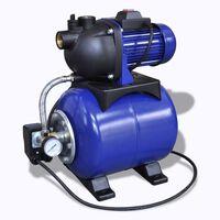 Elektrische tuinpomp 1200W blauw
