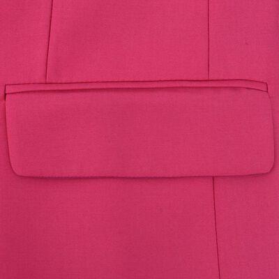 vidaXL Tweedelig pak met stropdas roze mannen maat 56
