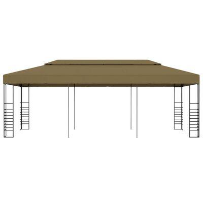 vidaXL Prieel 180 g/m² 6x3x2,7 m taupe