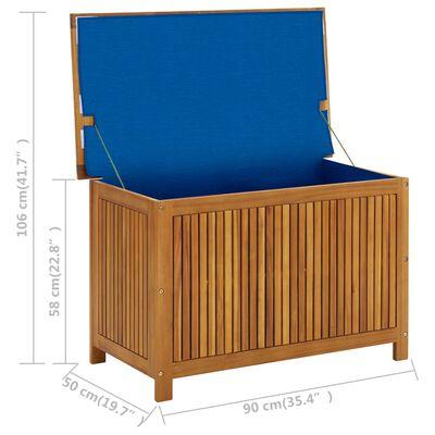 vidaXL Tuinbox 90x50x106 cm massief acaciahout