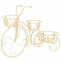 vidaXL Plantenstandaard fietsvorm vintage stijl metaal
