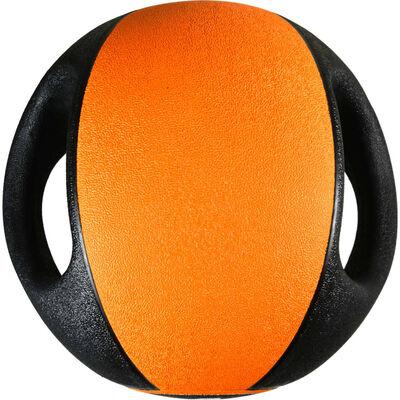 Pure2Improve Medicijnbal met handvatten 4 kg oranje