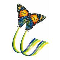 Vlinder vlieger gekleurd 65 x 63 cm