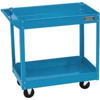 Draper Tools Gereedschapstrolley 2-laags blauw