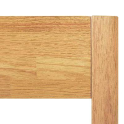 vidaXL Bedframe massief eikenhout 140x200 cm