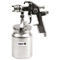 VOREL Spuitpistool met vloeistofbeker HVLP 1000 ml