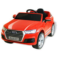 vidaXL Elektrische speelgoedauto Audi Q7 6 V rood