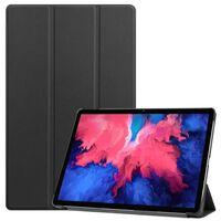 3-vouw Sleepcover Hoes Zwart Voor De Lenovo Tab P11