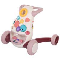 Bo Jungle Loopspeelgoed B-Walking Aid Jumpy roze