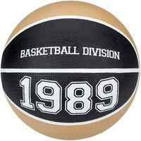 New Port basketbal Division goud/zwart maat 5