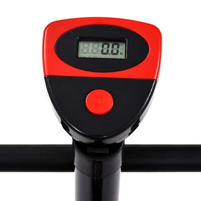vidaXL Hometrainer met bandweerstand rood