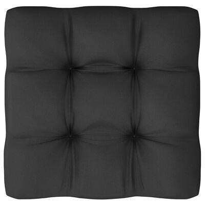 vidaXL 3-delige Loungeset met kussens massief grenenhout