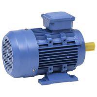 vidaXL Elektromotor 3 fase 2,2 kW/3 pk 2-polig 2840 rpm