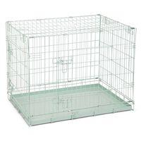 Beeztees Hondenbench 78x55x61 cm groen