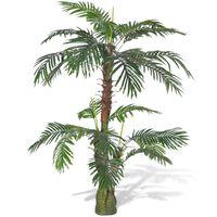 vidaXL Kunstplant Cycus palmboom 150 cm