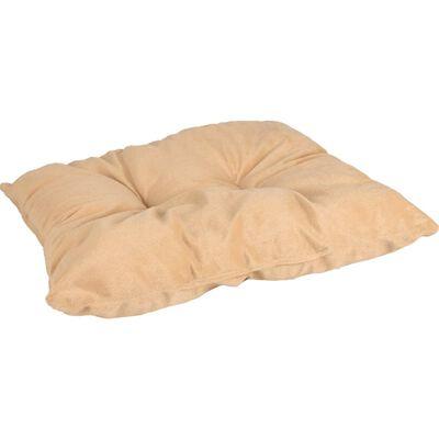 FLAMINGO Dierenmand met kussen Enya rechthoekig 45x32x18 cm beige