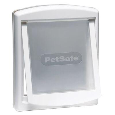 PetSafe Huisdierenluik in 2 richtingen 740 Medium 26,7 x 22,8 cm Wit 5020