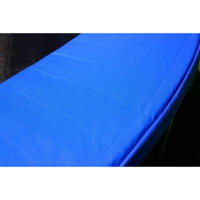 Trampoline - Blauw - 435 Cm - Met Net En Ladder - Tot 180 Kg