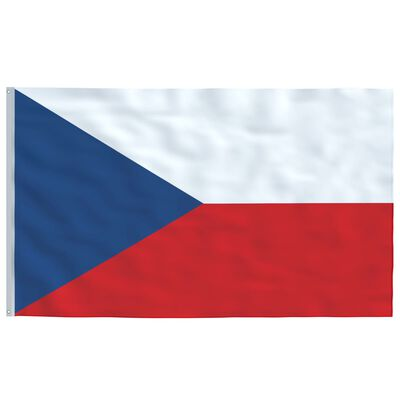 vidaXL Vlag Tsjechië 90x150 cm