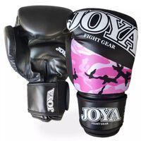 Bokshandschoenen Joya Top One Camo 6oz roze