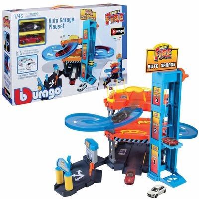 Burago Autogarage speelset Street Fire 1:43 18-30361