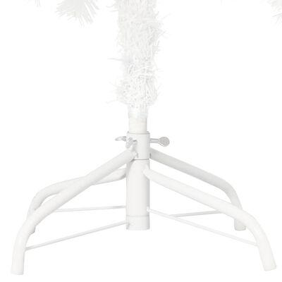 vidaXL Kunstkerstboom met levensechte naalden 210 cm wit