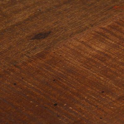 vidaXL Barkrukken 2 st massief gerecycled hout