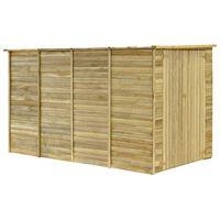 vidaXL Tuinhuis 315x159x178 cm geïmpregneerd grenenhout