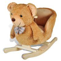 vidaXL Hobbeldier teddybeer