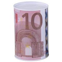 Spaarpot 10 euro biljet 13 x 15 cm - Bankbiljet geld spaarpotten -
