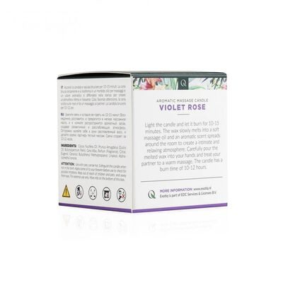 Exotiq Massagekaars Violet Rose - 60g