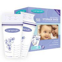 Lansinoh Moedermelk opslagzakken 50 st 180 ml 40055