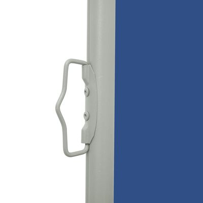 vidaXL Tuinscherm uittrekbaar 100x300 cm blauw