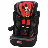 Disney Autostoeltje I-Max Mickey groep 1+2+3 rood