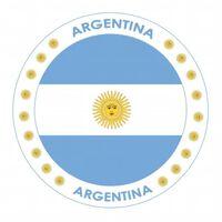 75x Bierviltjes Argentinie thema print - Onderzetters Argentijnse