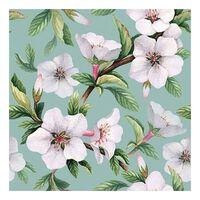 20x Bloesem / bloemen voorjaar servetten 33 x 33 cm - Papieren
